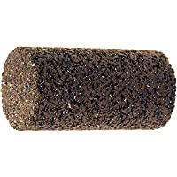 "PFERD 61893 Type 18 Straight Cone, Aluminum Oxide, 2"" Diameter x 3"" Length, 5/8-11 Thread, 18144 rpm, 16 Grit"