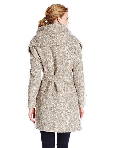 T Tahari Women's Marla Wool Wrap Coat Tweed in the UAE. See prices