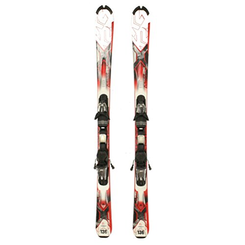 Used K2 AMP Strike Skis Salomon L10 Bindings Nice A Condition Starter Set Sale