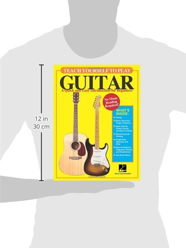 teach yourself to play guitar a quick and easy introduction for rh amazon com