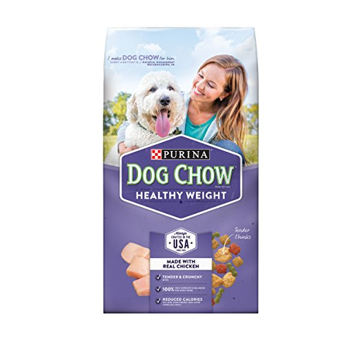 Purina Dog Chow Healthy Weight Adult Dry Dog Food - Six (6) 4 lb. Bags -