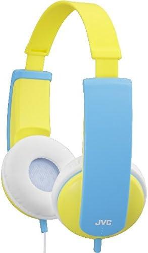 Jvc Tinyphones Ha Kd5 Ye Casque Audio Pour Enfant Avec Limiteur De Volume Jaune