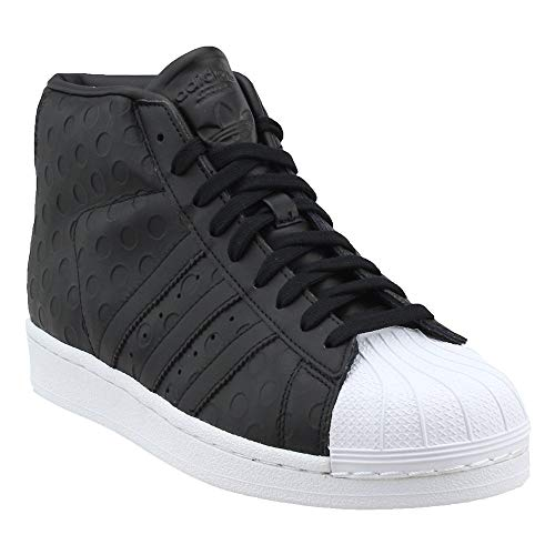 watch c2cb2 9c828 adidas Originals Womens Pro Model Running Shoe, BlackWhite, (8 M US)
