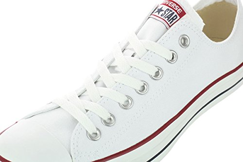 Compra Converse Unisex Chuck Taylor® All Star® Core Ox - Optical White - Men's 4, Women's 6 Medium en Usame