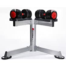 25-60 LBS adjustable dumbbell with stand (2 dumbbells 120LBS+ 1 stand)