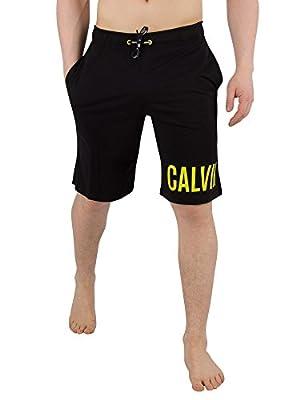 Calvin Klein Men's Jersey Sweat Shorts, Black