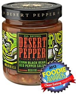 Desert Pepper Trading Co, Corn, Black Bean, Red Pepper Salsa, 16 Oz