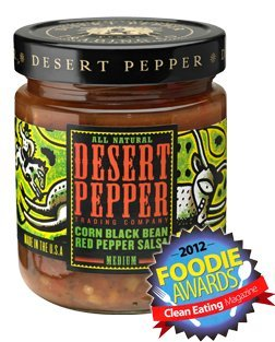 (Desert Pepper Trading Co, Corn, Black Bean, Red Pepper Salsa, 16 Oz (Pack of 3))