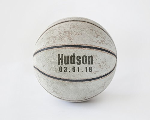 Personalized Basketball Artwork Decor Customized with Name and Birth - Date Basketball Ideas