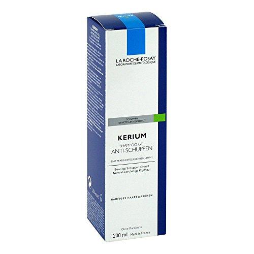 Roche Posay Kerium fettige Haut Gelshampoo 200 ml
