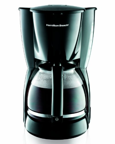 Hamilton Beach 49316 12-Cup Coffeemaker, Black