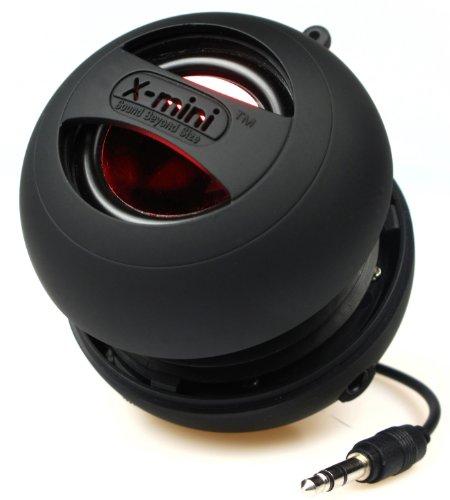 X-Mini II XAM4-B Portable Capsule Speaker, Mono, Black