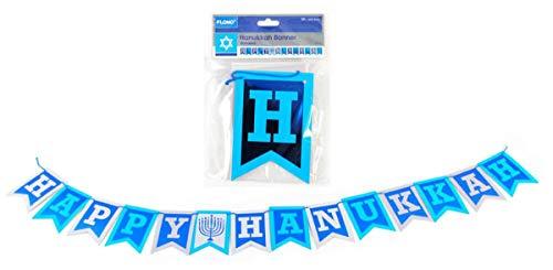 Happy Hanukkah 5 Foot Pennant Holiday Party Banner
