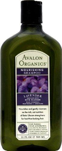 Avalon Organics Lavender Nourishing Shampoo, 11 Ounce -- 6 per - Organics Avalon Shampoo Nourishing