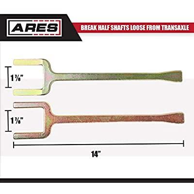 ARES 12020-2-Piece Axle Popper Kit - Includes Fork and Shim - for Use on Front Wheel Drive Vehicles - Break Half Shafts Loose from Transaxle: Automotive