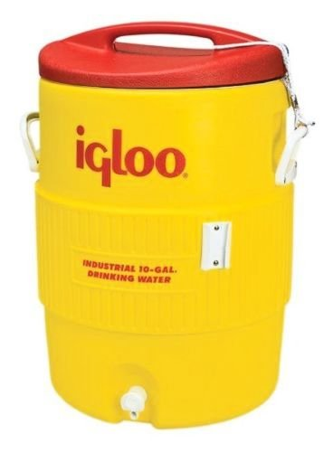 Igloo Industrial Beverage Cooler, 10 gallon, (10 Gallon Lighting)