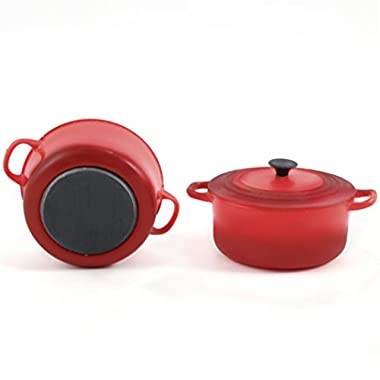 Le Creuset Round French Oven Magnet, Cherry