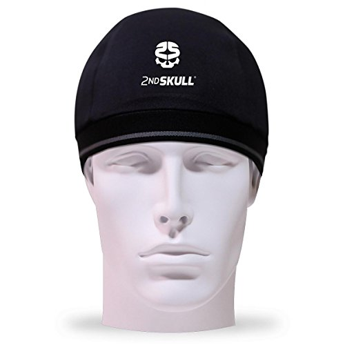 2nd Skull Protective Skull Cap (Teen/Adult, Black)