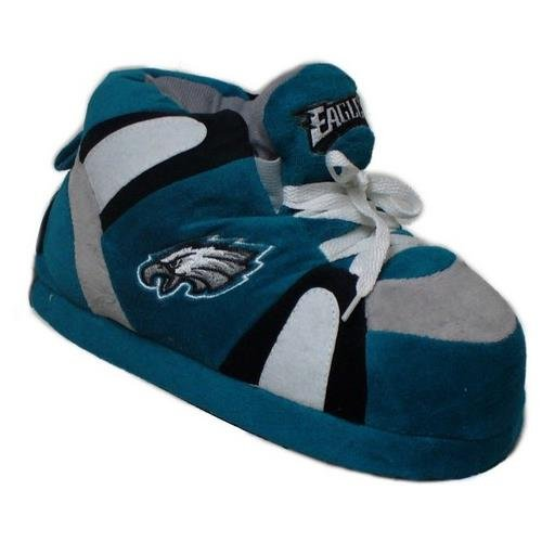 Womens Sneaker Comfy NFL Mens Slippers Philadelphia Feet Feet Officially and Licensed Eagles Happy 0rq1fz0