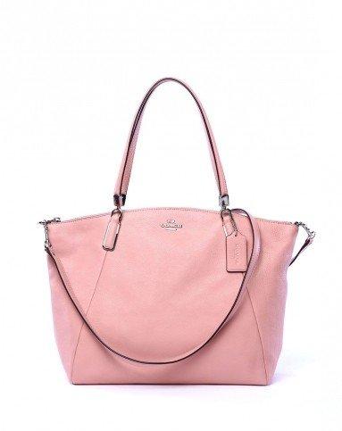 Coach Pebble Leather Handbag Shoulder