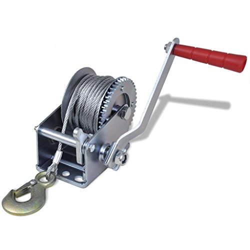 Business & Industrial Material Handling Lifts & Hoists Winches Hand Winch 800 lb from romelarus