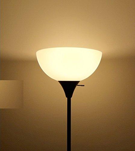 Triangle Bulbs T95133-6 A19 LED 60 Watt Equivalent Soft White (3000K) Light Bulb, 6 Pack
