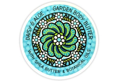 Greenwich Bay Trading Co. Garden Body Butter with Shea and Cocoa Butter (Daisy & ()