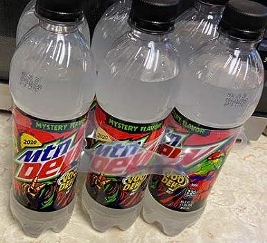Mountain Dew Halloween 2019 Mystery Flavor Voo MTN empty soda pop can 12oz