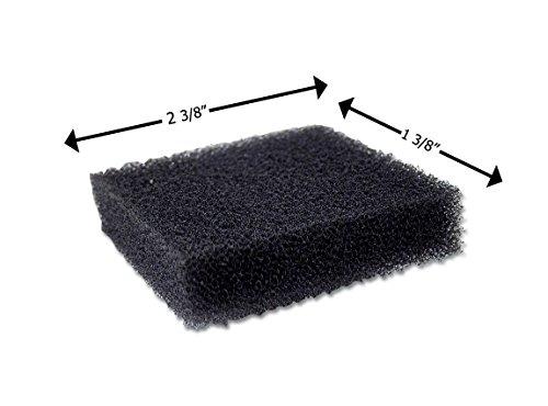Reusable Black Foam Filters for Puritan Bennett 418 Standard - 5 Pack (Puritan Bennett Machine Cpap)