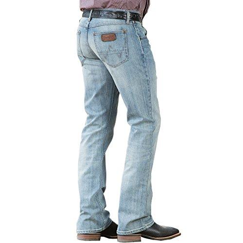Wrangler Men's Big & Tall Retro Slim Fit Boot Cut Jean, Bearcreek 36W x 38L