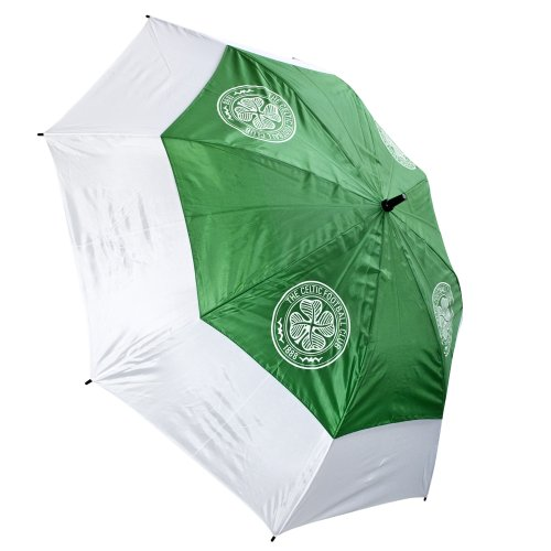 Celtic Fc Tour Vent Golf Umbrella Green/White by Celtic F.C. (Image #1)