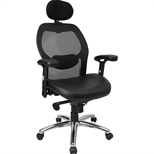 flash-furniture-high-back-black-super-mesh-executive-swivel-chair-with-leather-seat-knee-tilt-contro