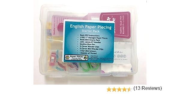 Inglés Paper Piecing Starter Pack: Amazon.es: Juguetes y juegos