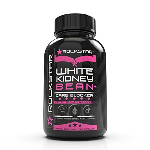 Rockstar White Kidney Bean Diet Pill, Women, 60 Count Review
