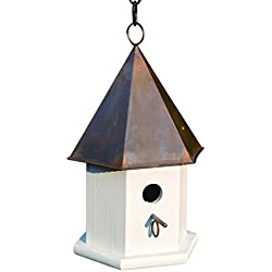 Heartwood 015B Copper Songbird Decorative Bird House