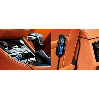 RapidX RXX5USBBPL X5 Plus Car Charger 5 USB Ports QC 3.0/Type C Blue