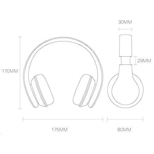 Powerlocus Wireless Bluetooth Over Ear Stereo Foldable Import It All