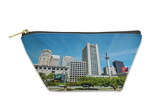 Gear New Accessory Zipper Pouch, Union Square In San Francisco, Large, - In Stores Square Sf Union