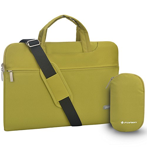 Laptop Shoulder Bag, 14-14.1 inch Laptop Case, Slim Briefcas