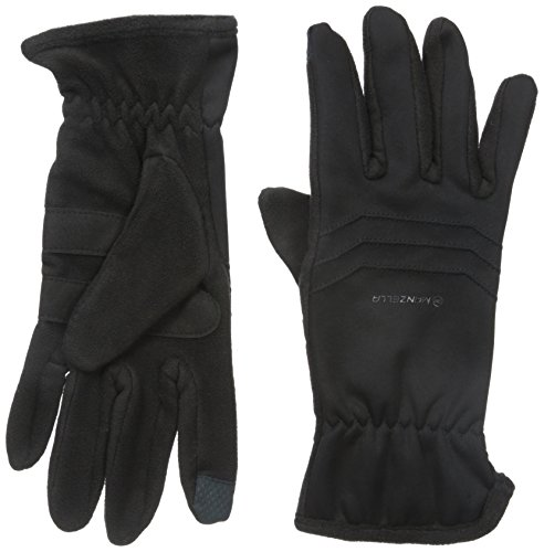 - Manzella Men's Hybrid Ultra Touch Tip Gloves, Black, Large/X-Large