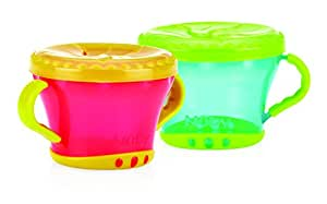Nuby Snack Keeper, Colors May Vary (Discontinued by Manufacturer)