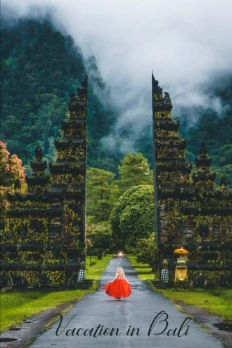 (Vacation in Bali: Plan and Journal about your Vacation in Beautiful Bali Blank Wide Ruled Journal 6