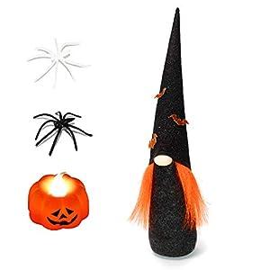 ITOMTE Handmade Swedish Gnome, Scandinavian Tomte, Yule Santa Nisse, Nordic Figurine, Plush Elf Toy, Halloween Table…