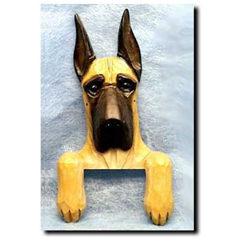 Michael Park Fawn Great Dane Door Topper