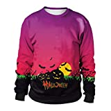 Halloween 2018,Gillberry Pumpkins 3D Printing Long Sleeve Hoodie Sweatshirt Pullover Top