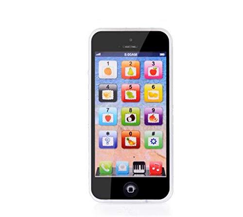 Beau et Unique Enfants Enfants Jouent Jouet Téléphone Magic Touch avec Micro USB Port Cadeau de Plaisir Éducatif pour Bébé (Noir) KeavyLee