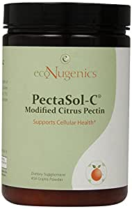 EcoNugenics PectaSol-C Modified Citrus Pectin, Powder/454g, 1 lb
