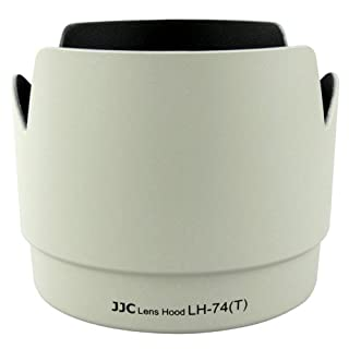 JJC Professional LH74T White Tulip Flower Lens Hood for Canon 70-200mm F 4 Lens Replaces Canon ET-74 ET74 (B0097CZH1O) | Amazon price tracker / tracking, Amazon price history charts, Amazon price watches, Amazon price drop alerts