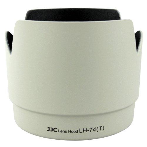 JJC Professional LH74T White Tulip Flower Lens Hood For canon 70-200mm F 4 Lens Replaces canon ET-74 ET74