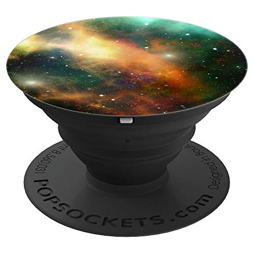 Cool Nebula Galaxy Space Milk Way Stars And Planets - PopSockets Grip and Stand for Phones and Tablets ()